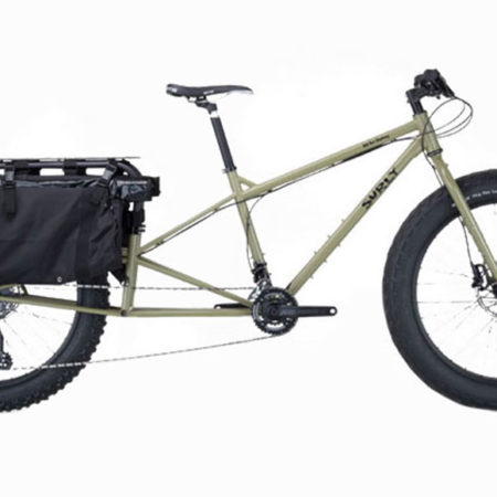 dummy cargo bike side view