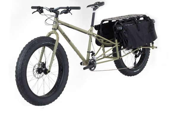 dummy cargo fat bike