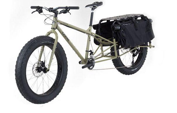 dummy cargo fat bike