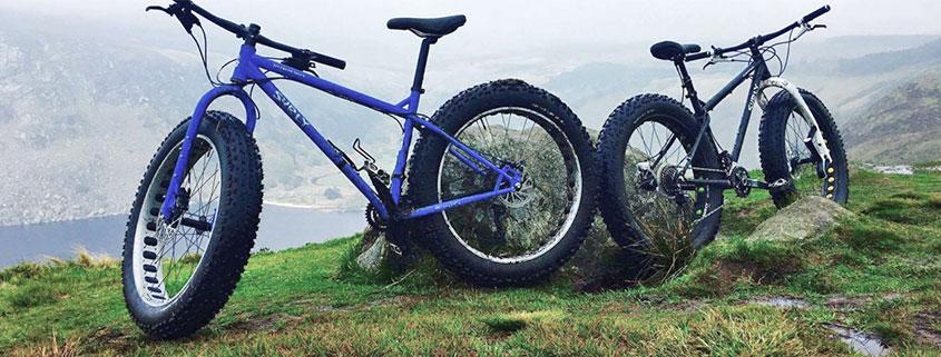 bike above lough Tay