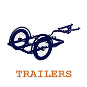 link to bike trailer products page