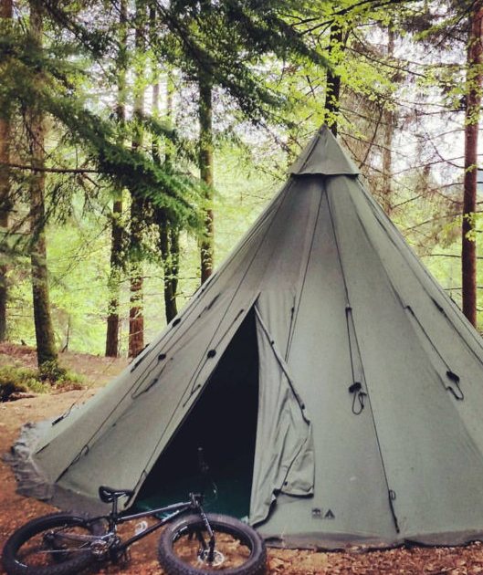 picture of a Tipi