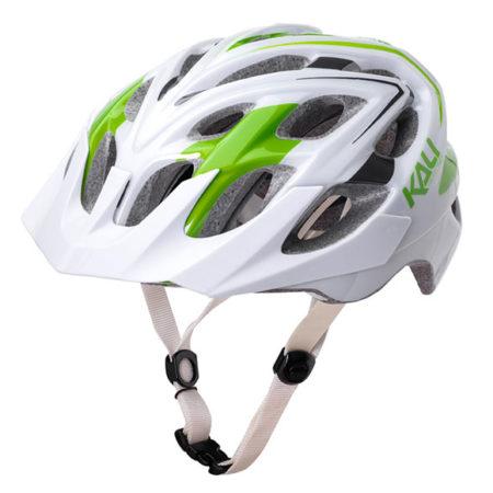 kali-lime-white helmet