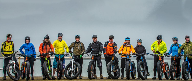 lads on bikes