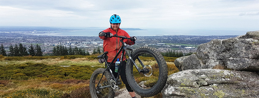 bike up TicNoc hill